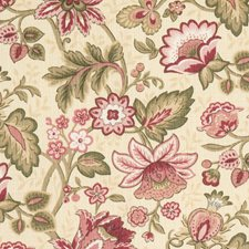 Vintage Floral Decorator Fabric by Fabricut