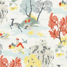 Persimmon Decorator Fabric by Robert Allen