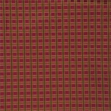 Burgundy/Red/Light Green Plaid Decorator Fabric by Kravet