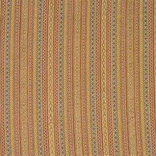 Green/Burgundy/Red Ethnic Decorator Fabric by Kravet
