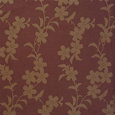Natural Red Chenille Decorator Fabric by Kravet
