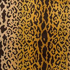 Ivory/Gold/Black Decorator Fabric by Scalamandre
