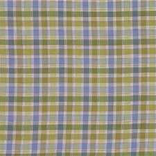 Green/Blue Plaid Decorator Fabric by Kravet