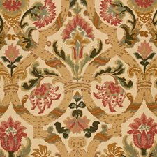Rose/amp/Gold Decorator Fabric by Schumacher