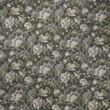 Smoke Floral Decorator Fabric by Fabricut