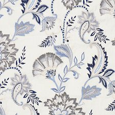 Delft Decorator Fabric by Scalamandre