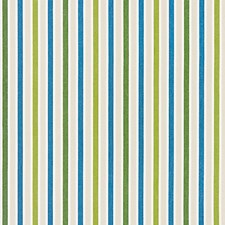 Ocean Palm CHATHAM STRIPES Decorator Fabric by Scalamandre