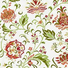 Blossom Embroidery Decorator Fabric by Scalamandre
