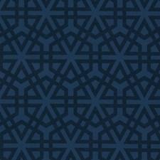 Indigo Decorator Fabric by Scalamandre