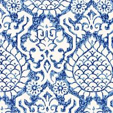 Porcelain Decorator Fabric by Scalamandre