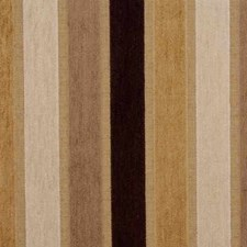 Beige/Brown Stripes Decorator Fabric by Kravet