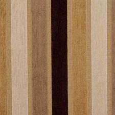 Beige/Brown Stripes Decorator Fabric by Kravet