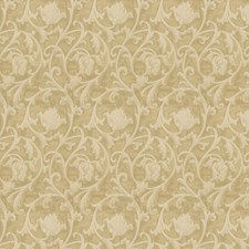 Champagne Scrollwork Decorator Fabric by Fabricut