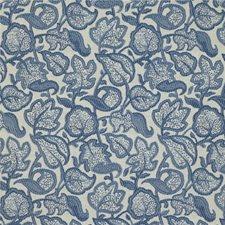 Delft Botanical Decorator Fabric by Kravet