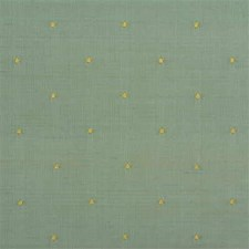 Light Blue/Gold Dots Decorator Fabric by Kravet