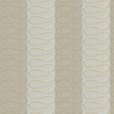 Linen Embroidery Decorator Fabric by Stroheim