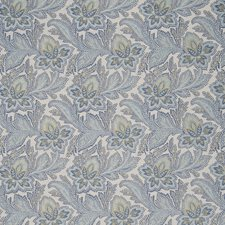 Bleu Jacobean Decorator Fabric by Fabricut