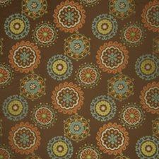 Chocolate Global Decorator Fabric by Fabricut