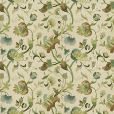 Mineral Floral Decorator Fabric by Fabricut