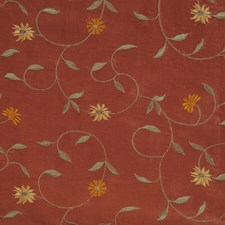 Copper Embroidery Decorator Fabric by Fabricut