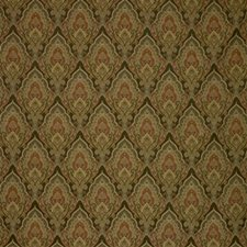 Brown/Green/Burgundy Paisley Decorator Fabric by Kravet