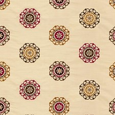 Beige/Purple/Brown Modern Decorator Fabric by Kravet