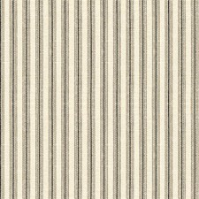 White/Black Stripes Decorator Fabric by Kravet