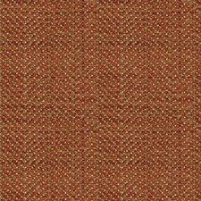 Orange/Light Green Tweed Decorator Fabric by Kravet