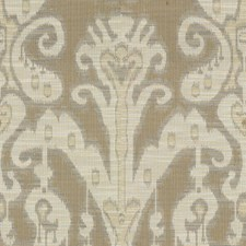 Beige/White Ethnic Decorator Fabric by Kravet