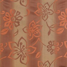 Coral Bean Floral Decorator Fabric by Fabricut