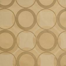 Gold Geometric Decorator Fabric by Fabricut
