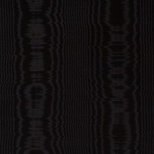 Black Moire Decorator Fabric by Fabricut