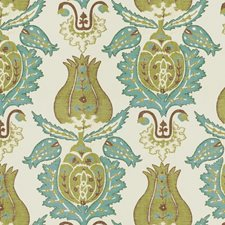 Capri Palm Damask Decorator Fabric by Kravet