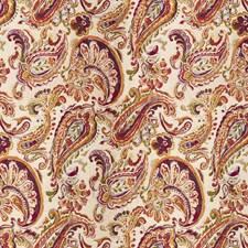 Fuchsia Paisley Decorator Fabric by Kravet