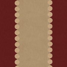 Beige/Orange Stripes Decorator Fabric by Kravet