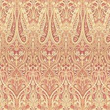 Pink/Beige Paisley Decorator Fabric by Kravet