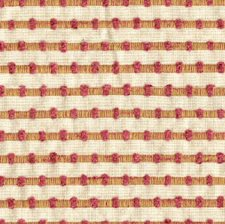 White/Pink/Yellow Stripes Decorator Fabric by Kravet