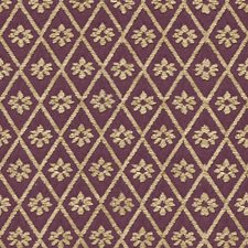 Purple/Beige Diamond Decorator Fabric by Kravet