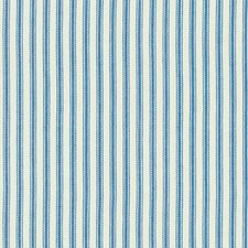 Blue/Beige Stripes Decorator Fabric by Kravet