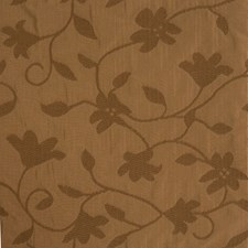 Chocolate Floral Decorator Fabric by Fabricut