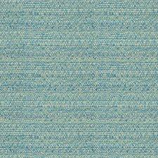 Turquoise/Beige Ethnic Decorator Fabric by Kravet