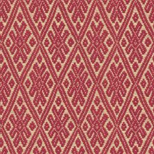 Raspberry Diamond Decorator Fabric by Kravet