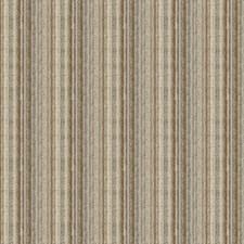 Grey/Blue/Beige Stripes Decorator Fabric by Kravet