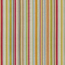 Pink/Blue/Grey Stripes Decorator Fabric by Kravet