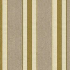 Beige/Green Stripes Decorator Fabric by Kravet