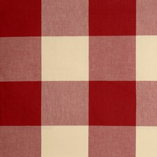 Claret Check Decorator Fabric by Fabricut