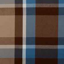 Blue/brown Decorator Fabric by Duralee
