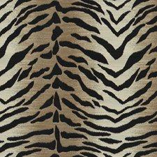 Beige/Brown/Black Animal Skins Decorator Fabric by Kravet