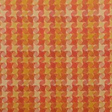 Copper Geometric Decorator Fabric by Duralee