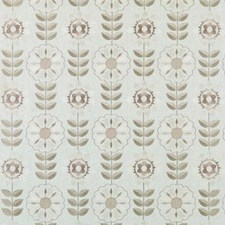 Khaki Embroidery Decorator Fabric by Duralee